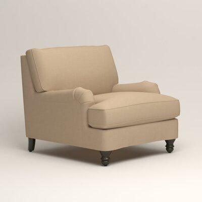 Montgomery Armchair Upholstery: Bayou Stone