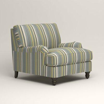 Montgomery Armchair Upholstery: Dunagen Ocean