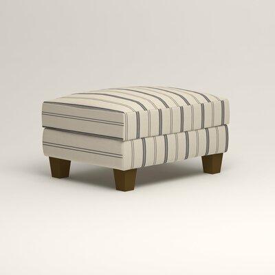 Kerry Ottoman Upholstery: Mcallister Indigo