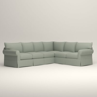 Jameson L-Shaped Sectional Orientation: Left Hand Facing, Upholstery: Tillery Mint