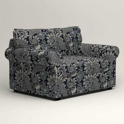 Newton Chair and a Half Upholstery: Nadia Denim
