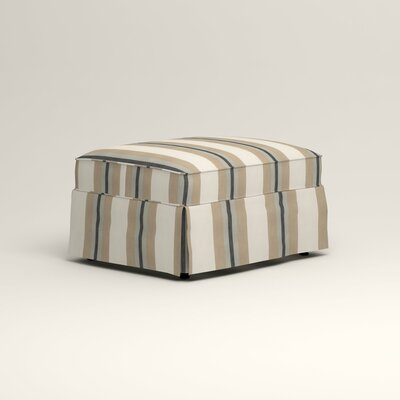 Jameson Ottoman Upholstery: Brinley Seabreeze