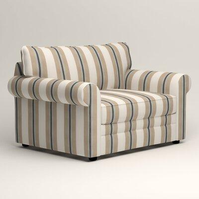 Newton Grand Chair Fabric: Brinley Seabreeze