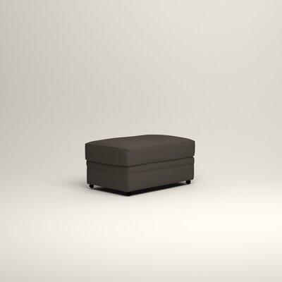 Newton Ottoman Upholstery: Jemma Storm Gray