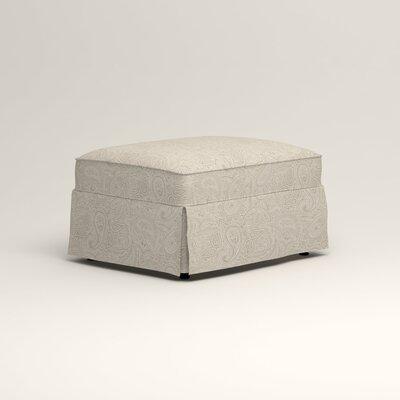 Jameson Ottoman Upholstery: Ronan Linen