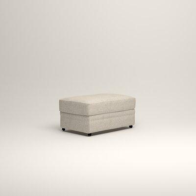 Newton Ottoman Upholstery: Stewart Paisley Linen