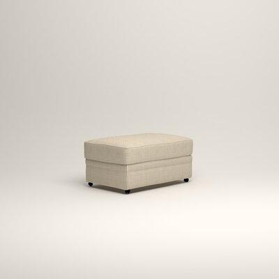 Newton Ottoman Upholstery: Douglas Rustic Stripe