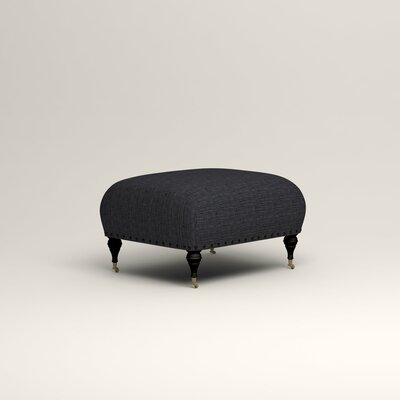 Shephard Ottoman Upholstery: Laney Navy