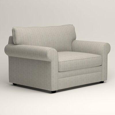 Newton Grand Chair Fabric: Douglas Harbor Stripe
