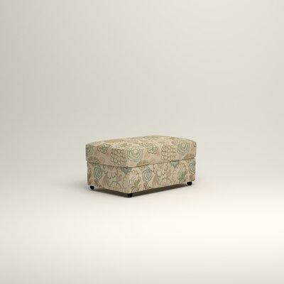 Newton Ottoman Upholstery: Barlow Sunwashed Jacquard