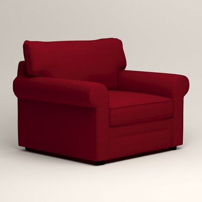 Newton Side Chair Color: Tillery Crimson