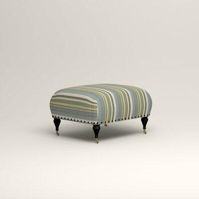 Shephard Ottoman Upholstery: Dunagen Ocean