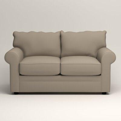 Newton Loveseat Upholstery: Jemma Silver Mist