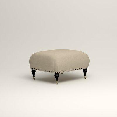 Shephard Ottoman Upholstery: Denton Beige