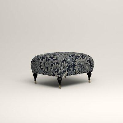 Shephard Ottoman Upholstery: Nadia Denim