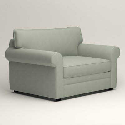 Newton Grand Armchair Upholstery: Bayou Spray