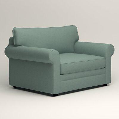 Newton Grand Chair Fabric: Bryant Calypso Textured Slub