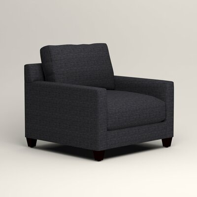 Kerry Armchair Upholstery: Laney Navy
