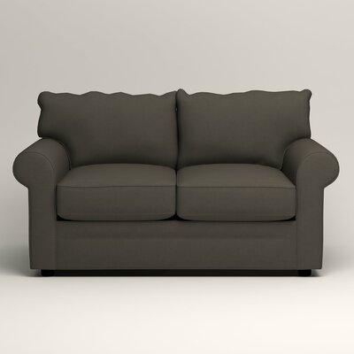 Newton Loveseat Upholstery: Jemma Storm Gray
