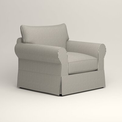 Jameson Chair Fabric: Kennon Saltwater Navy
