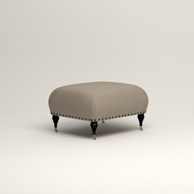 Shephard Ottoman Upholstery: Tibby Linen