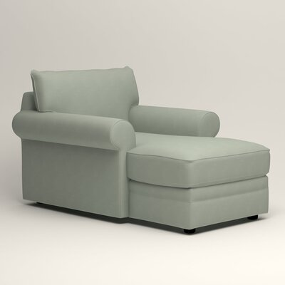 Newton Chaise Upholstery: Tillery Mint