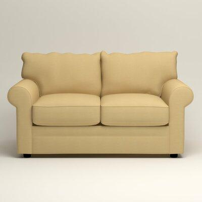 Newton Loveseat Upholstery: Tillery Sunglow