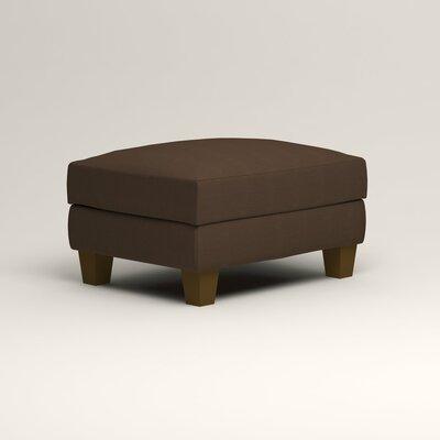 Kerry Ottoman Upholstery: Bayou Coffee