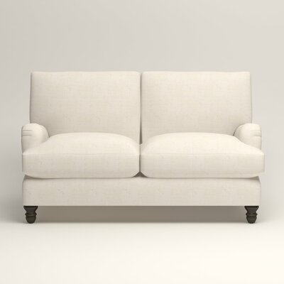 Montgomery Upholstered Loveseat Upholstery: Bevin Natural