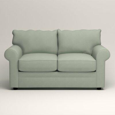 Newton Loveseat Upholstery: Tillery Mint