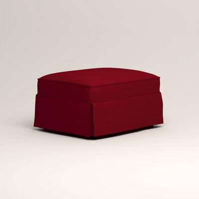Jameson Ottoman Upholstery: Tillery Crimson