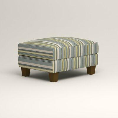 Kerry Ottoman Upholstery: Dunagen Ocean