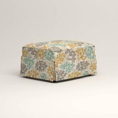 Jameson Ottoman Upholstery: Wilmer Blooming Pool