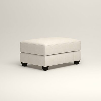 Hawthorn Ottoman Upholstery: Bevin Natural