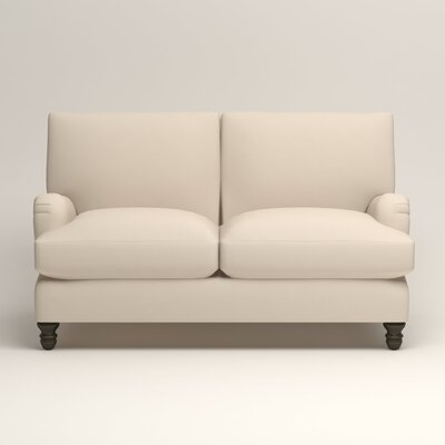 Montgomery Upholstered Loveseat Upholstery: Bayou Natural