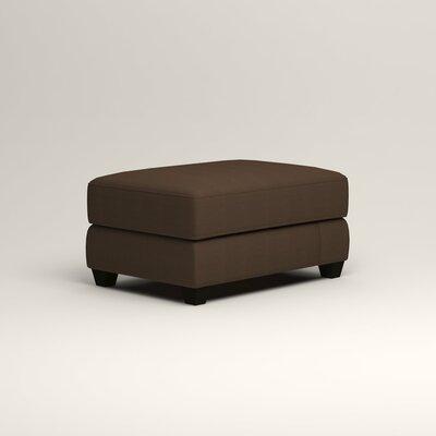 Hawthorn Ottoman Upholstery: Bayou Coffee