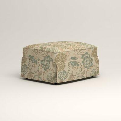 Jameson Ottoman Upholstery: Barlow Sunwashed Jacquard