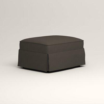 Jameson Ottoman Upholstery: Jemma Storm Gray