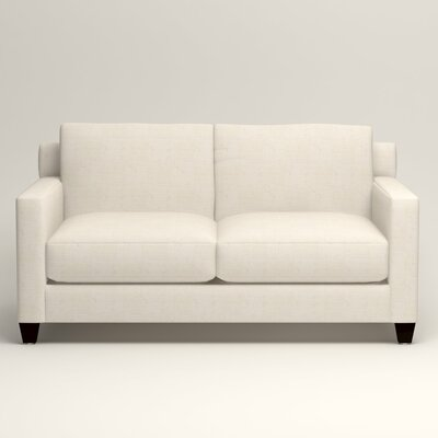 Kerry Loveseat Upholstery: Bevin Natural
