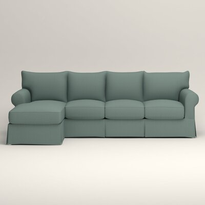 Jameson Sofa with Chaise Orientation: Left, Upholstery: Bryant Calypso Textured Slub