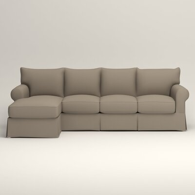 Jameson Sofa with Chaise Orientation: Left, Upholstery: Jemma Silver Mist