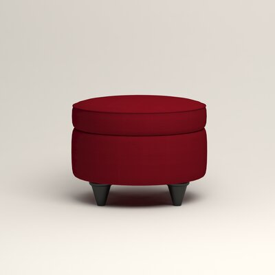 Olivet Storage Ottoman Upholstery: Bayou Flame