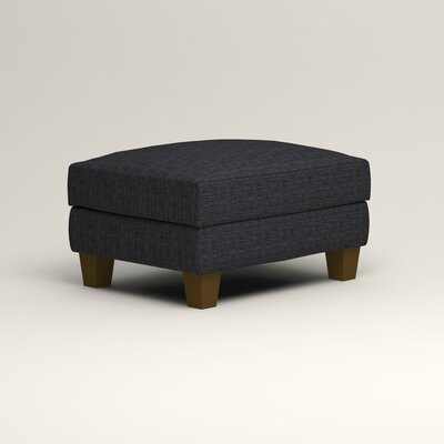 Kerry Ottoman Upholstery: Laney Navy