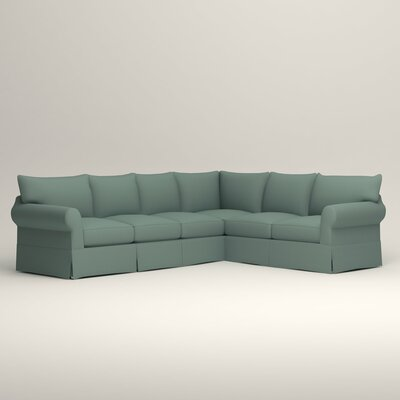 Jameson L-Shaped Sectional Orientation: Left Hand Facing, Upholstery: Bryant Calypso Textured Slub