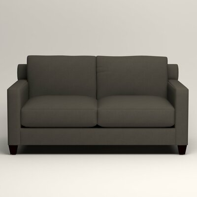 Kerry Loveseat Upholstery: Tibby Pewter
