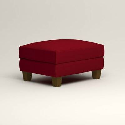 Kerry Ottoman Upholstery: Bayou Flame