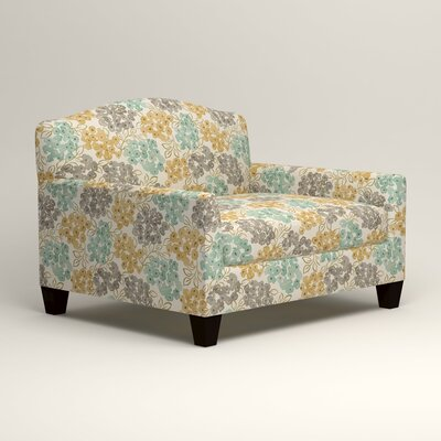 Fairchild Chair Fabric: Wilmer Blooming Pool