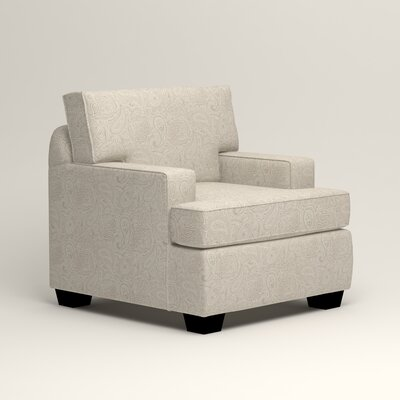 Clarkedale Armchair Upholstery: Ronan Linen