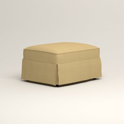 Jameson Ottoman Upholstery: Tillery Sunglow