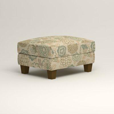 Kerry Ottoman Upholstery: Okeefe Seabreeze